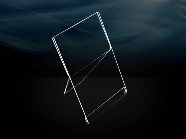 Acrylic transparent single photo frame
